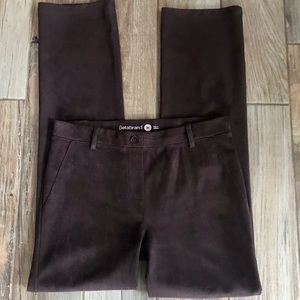 Betabrand chocolate pants